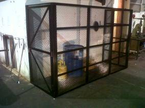 Bespoke Cages  Security Cages