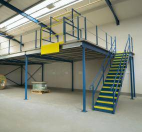Mezzanine Flooring Security Cages