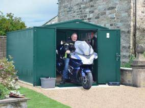 Secure Motorbike Storage Security Cages