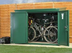 Secure Cycle Storage Security Cages