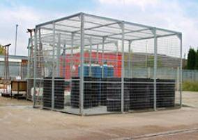 Material Storage Cages Security Cages