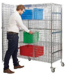 Materials Handling  Security Cages