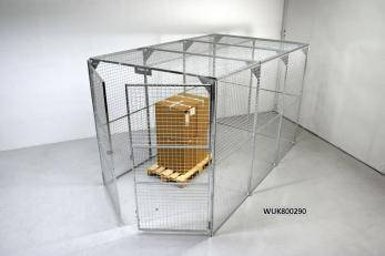 Storage Cage - Painted Cage