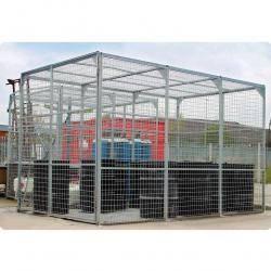 External Storage Cage - Galvanised - UK800291