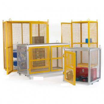 Large Security Boxes Galvanised - CE Certified Cage