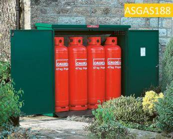 Gas Cage - 4 x 47KG Propane Cage - Calor Approved Cage
