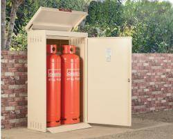 Gas Storage Cage - 2 x 47KG Propane Cage - Calor Approved