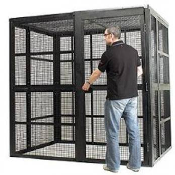 High Security Cages (Extra Wide) Cage