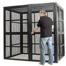 High Security Cages (Single Width) - SC2111 - W2100xD1100xH2050mm Security Cage