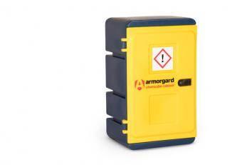 Armorgard Chemcube Cabinet - Plastic Hazardous Storage Cabinet Cage