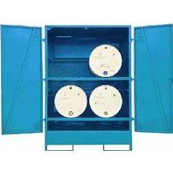 Horizontal Drum Sump Storage System Warehouse Ladder