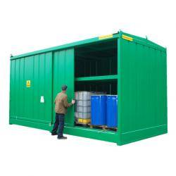 IBC Bunded Storage - (64 Drums Or 16 IBC's) - WDP64-16