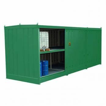 IBC Bunded Storage Cage