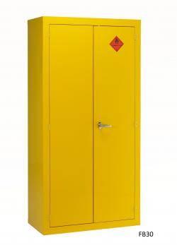 Chemical Storage Cabinets - Hazardous / Flammable Liquids - Single Width Warehouse Ladder