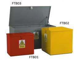 Hazardous Bins - Flat Top Warehouse Ladder