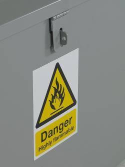 Hazardous Bins - Sloping Top Warehouse Ladder