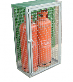 Propane Gas Bottle Cage - WTGC1407-G