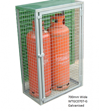 Propane Gas Bottle Cage Cage