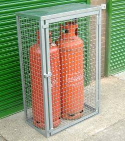 Propane Gas Bottle Cage