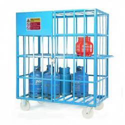 'Calor Gas' Cylinder Cage  Warehouse Ladder