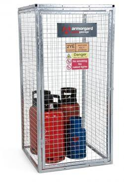 Armorgard Gorilla Gascage - Gas Bottle Storage Cage Warehouse Ladder