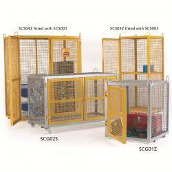 Large Security Boxes Galvanised - CE Certified - SCG03Z Security Cage