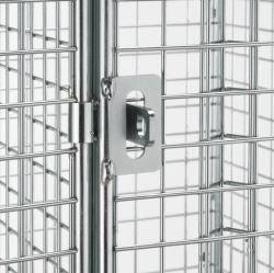 12 Compartment Wire Mesh Locker Warehouse Ladder
