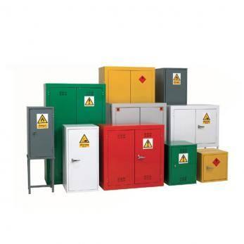 COSHH Cabinets - Hazardous / Flammable Liquids - Double Width Cage