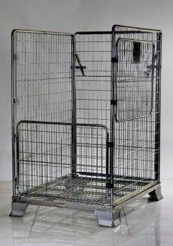Heavy Duty Parcel Cage Warehouse Ladder