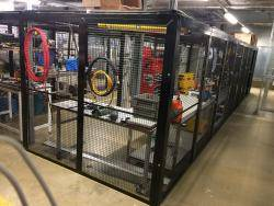 Bespoke Security Cages - Made To Measure Warehouse Ladder