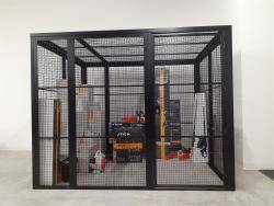 The Fortress Premium Quality High Security Cage Kit - 2.6m Extra Wide