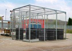 External Storage Cage - Galvanised - WUK800296