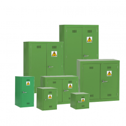 Pesticide Chemical Hazardous Materials Storage Cabinet - Green