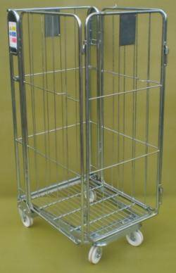 Roll Pallet - Roll Cage- Rod Infill (Qty 4) Warehouse Ladder