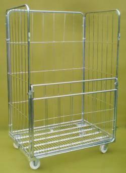 Jumbo Demountable Roll Cage Warehouse Ladder