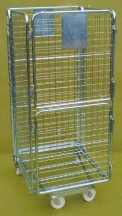 Roll Pallet - Roll Cage- Mesh Infill (Qty 4) Warehouse Ladder