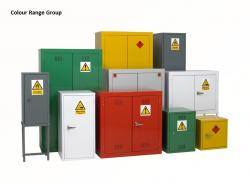 Chemical Storage Cabinets - Hazardous / Flammable Liquids - Single Width FB4