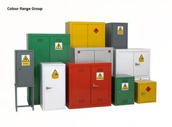 Chemical Storage Cabinets - Hazardous / Flammable Liquids - Single Width FB2 Cage