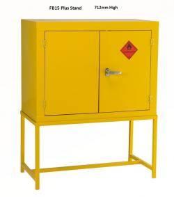 COSHH Cabinets - Hazardous / Flammable Liquids - Double Width FB15 Warehouse Ladder