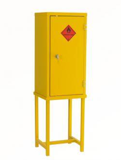 Chemical Storage Cabinets - Hazardous / Flammable Liquids - Single Width FB2 Warehouse Ladder
