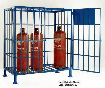 Cylinder Storage Cages - Propane / Calor  Cage