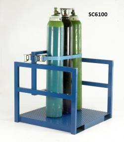 Cylinder Storage / Transport Pallet Warehouse Ladder