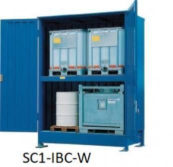 IBC Storage Cabinets Cage
