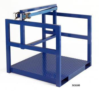 Cylinder Storage / Transport Pallet Cage