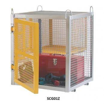 Large Security Boxes Galvanised - CE Certified - SCG03Z Warehouse Ladder