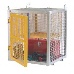Mini Galvanised Security Boxes - CE Certified - SCG01Z Security Cage