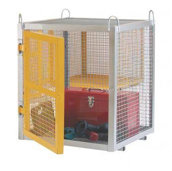 Mini Galvanised Security Boxes - CE Certified - SCG01Z Cage