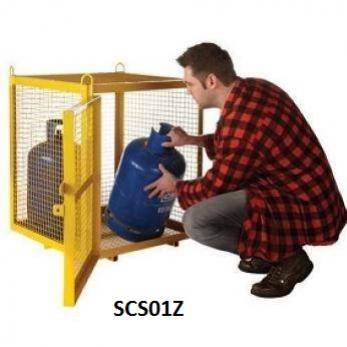 Fully enclosed Expanded Mesh Security Cages SCS01Z Cage