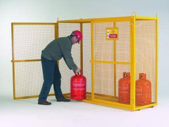 Large Security Boxes Painted - CE Certified Cage
