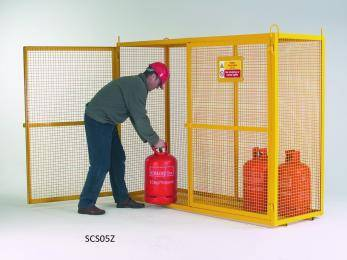 Large Security Boxes Painted - CE Certified - SCS03Z Cage